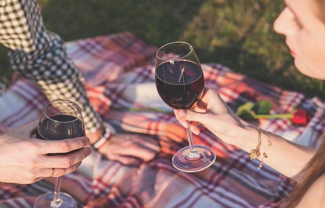 Picknick als Hobby für Paare
