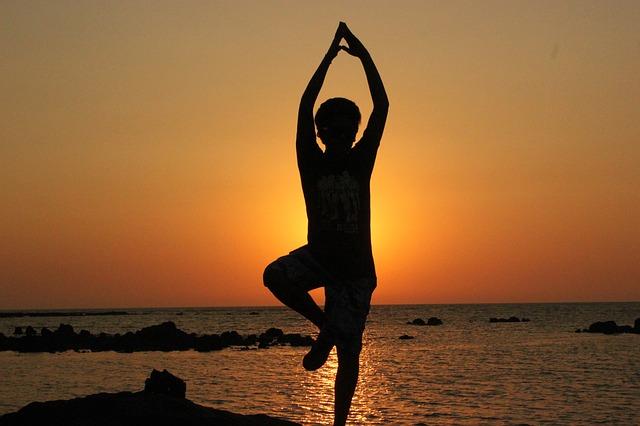 Yoga zählt zu den  Hobbys für zuhause