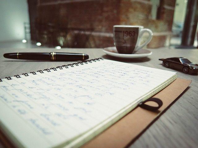 Tagebuch schreiben gehört zu den Hobbys mit T